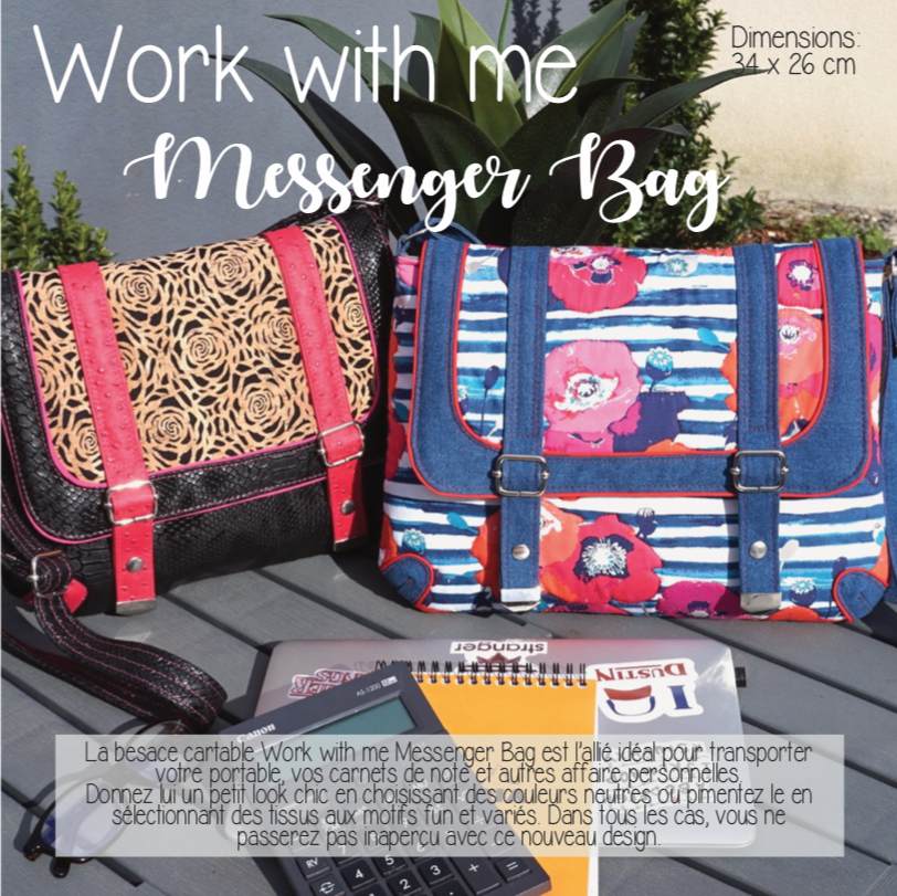 Work with Me Besace cartable