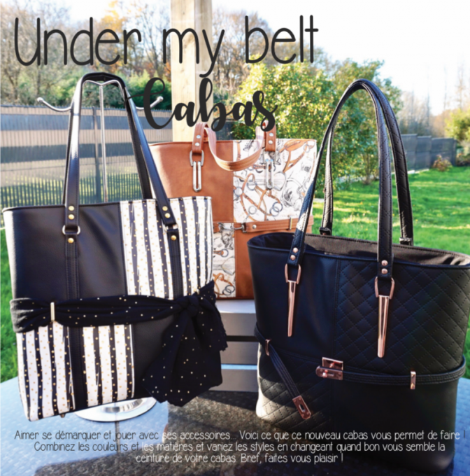 Under my belt - sac cabas