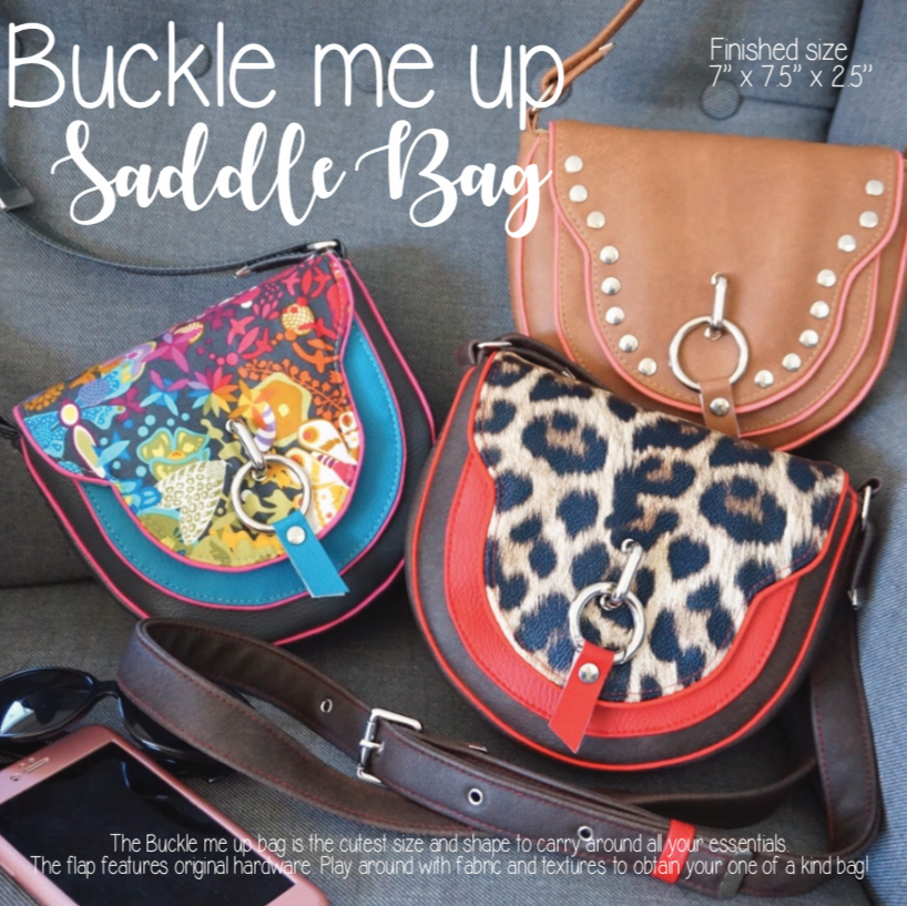 Buckle me up Saddle bag
