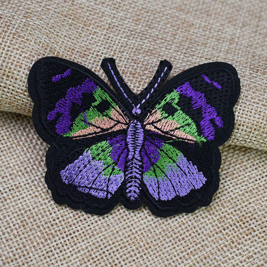 Patch thermocollant papillon