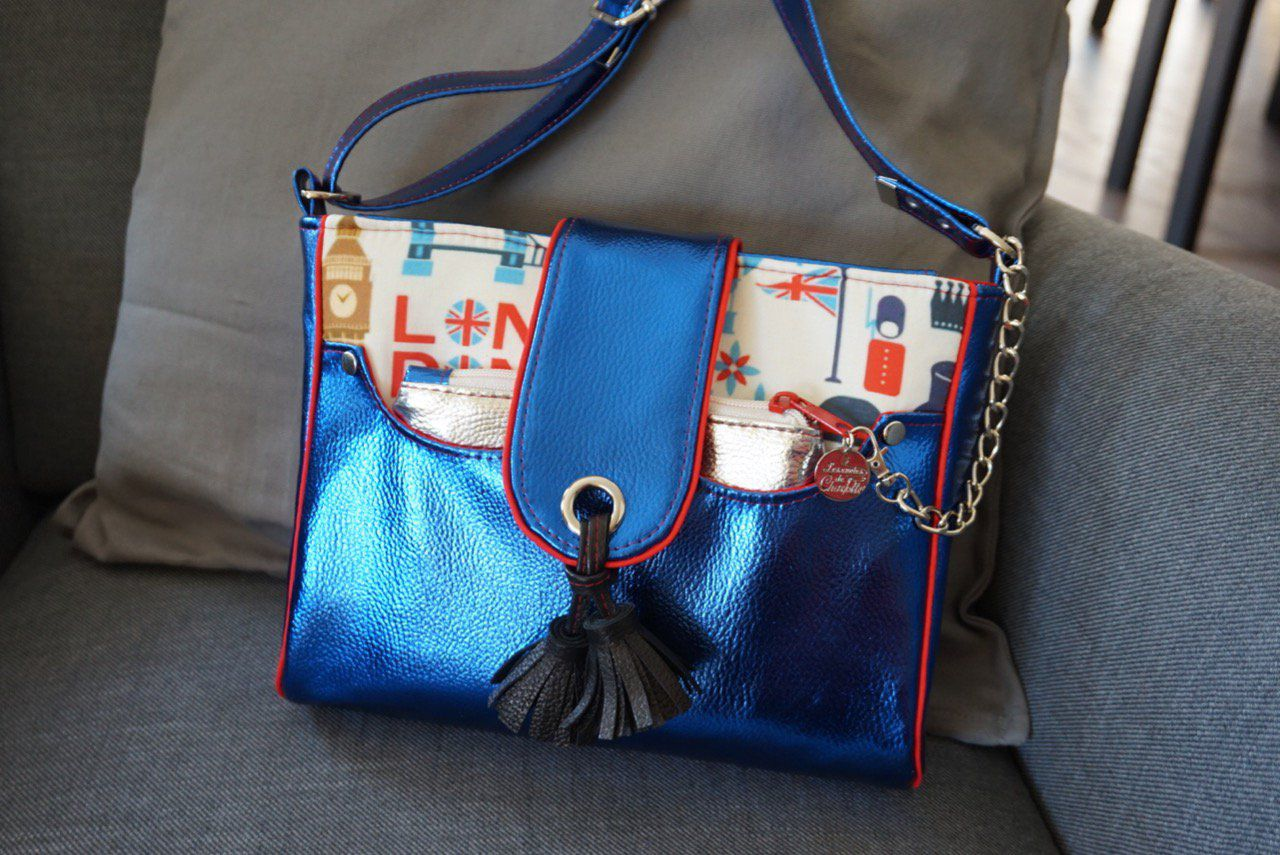 Sac bandoulière Forget me not